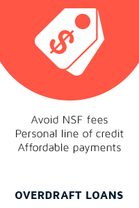 Avoid NSF fees with overdraft loans